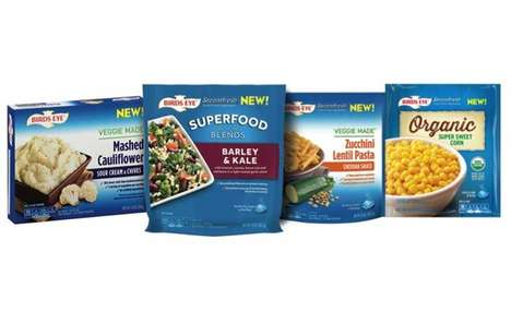 Frozen Superfood Dishes - The Birds Eye Veggie Made Frozen Foods Offer a Healthier Alternative