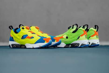 Water Gun-Inspired Sneakers - The New Instapump Fury Splash Collection Features Vivid Colorways