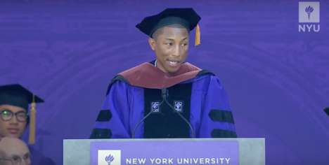 Demanding Education - Pharrell Williams' Commencement Speech Emphasizes the Importance of Education