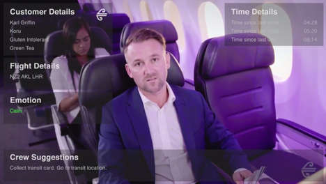 In-Flight AR Experiences - Air New Zealand Will Soon Using In-Flight Augmented Reality for Clients