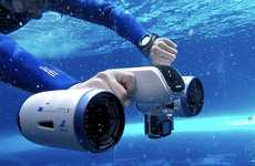 Underwater Swimmer Propellers