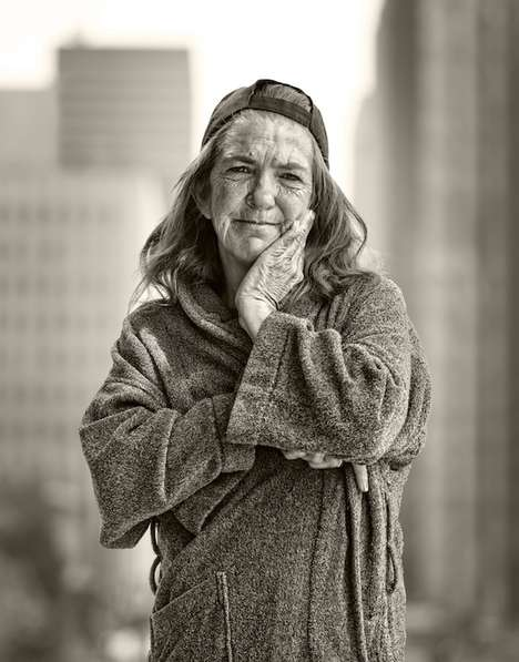 Homelessness Awareness-Raising Photography - 'I Am Somebody' Aims to Humanize the Less Fortunate