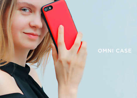Ultra-Slim Charging Cases - The 'Omni Case' Holds Additional Charges for a Smartphone without Bulk