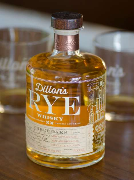 100% Canadian Rye-Whiskeys - Dillon's Latest Release is a Small Batch Canadian Rye