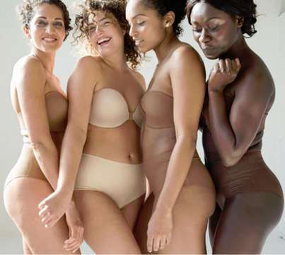 Underwire-Free Nude Bras - The Evelyn & Bobbie Brand Offers Underwear That Focuses on Comfort