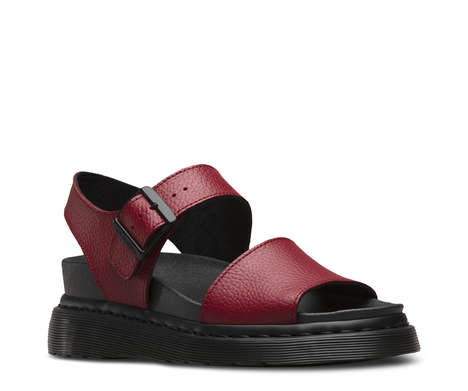 Comfortable 90s-Inspired Sandals - Dr. Marten's Romi Sandals Were Revitalized for the Summer