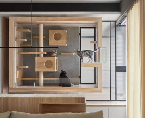 Contemporary Cat Habitats