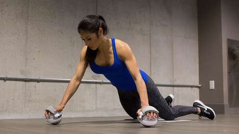 Destabilized Workout Equipment - The 'OmniBall' 360-Degree Strength Trainers Intensify Workouts