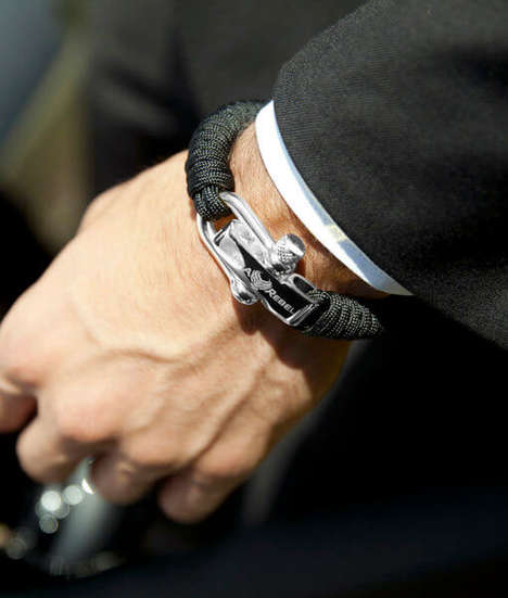 Stylish Survival Jewelry - The Alpha Rebel 'KCUF' Survival Bracelets are a Luxury Accessory Option