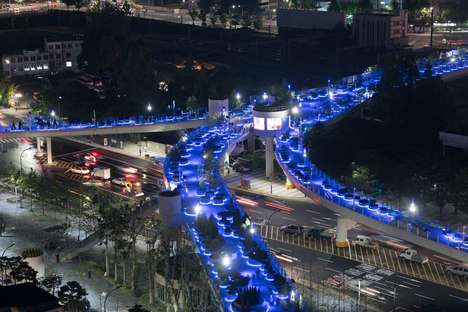 Repurposed Garden Highways - MVRDV Transformed a Seoul Highway into a Garden Promenade
