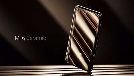 All-Glass Smartphones - The Xiaomi Mi 6 Ceramic Edition will Launch Exclusively in China