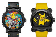 Opulent Anime Timepieces