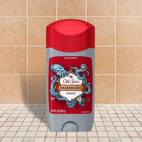 Cephalopod-Inspired Scent Collections - This Old Spice Scent Takes Inspiration from the Kraken