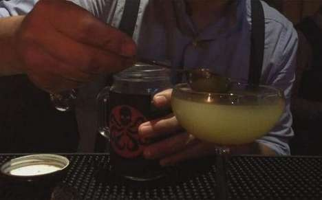Venomous Mango Cocktails - Mexico City's Luciferina Bar Serves a Drink Made with Tarantula Venom