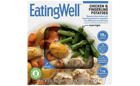Premium Recipe Frozen Dinners - The New EatingWell Frozen Entrées are Packed with Lean Protein