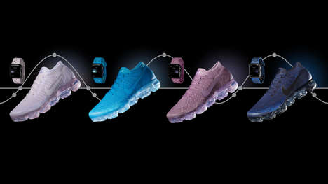 Sneaker-Synched Smartwatch Bands - Nike's 'Day to Night' Bands Match Its VaporMax Flyknit Sneakers