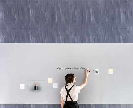 Abstract Workspace Wall Coverings