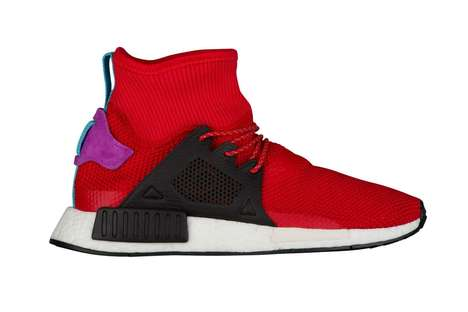 Lightweight Winter-Ready Sneakers - The New NMD_XR1 Model from Adidas Features a Longer Cut