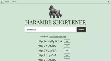 Emoticon URL Shorteners - Emojify This Uses Emojis to Shorten Overly Long Website Addresses