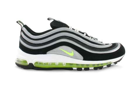 Classic Neon Sneaker Reissues - The Neon Air Max 97s are Expected to Drop Again Sometime in 2017
