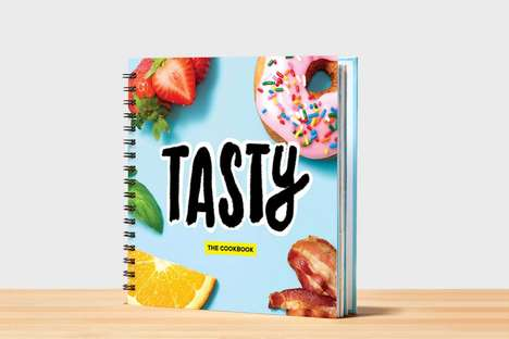 Customizable Recipe Cookbooks - Buzzfeed's Tasty Cookbook Offers Personalized Messages and Sections