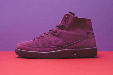Stylishly Deconstructed Basketball Sneakers - Nike Launched a Monochrome Deconstructed Air Jordan 2