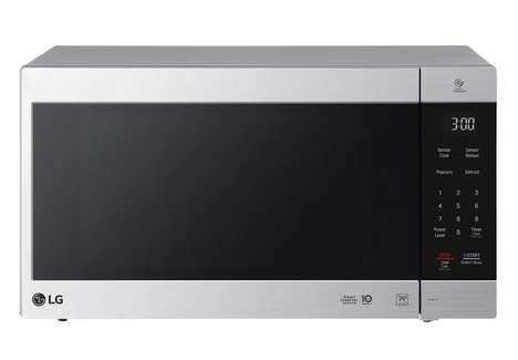 Customized Power Microwaves - The LG NeoChef Kitchen Microwave Oven Cooks and Defrosts Evenly