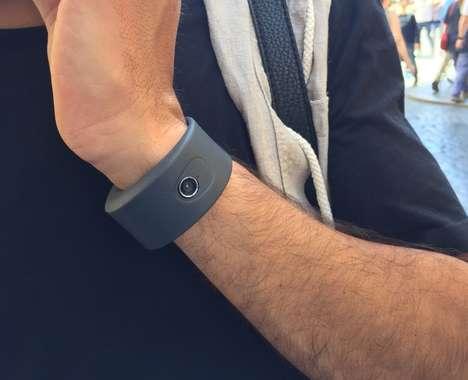 Social Media Camera Bracelets