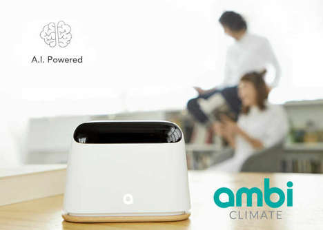 AI-Enhanced AC Accessories - The Ambi Climate 2 Detects and Analyzes Info to Keep You Comfortable