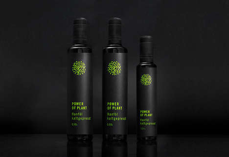 Minimal Health Food Branding - The Power of Plant Natural Products Keep a Focus on Simplicity