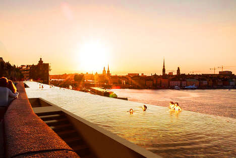 Lengthy Infinity Pools - The Soderman Infinity Pool Will Stretch Along the Baltic Shoreline