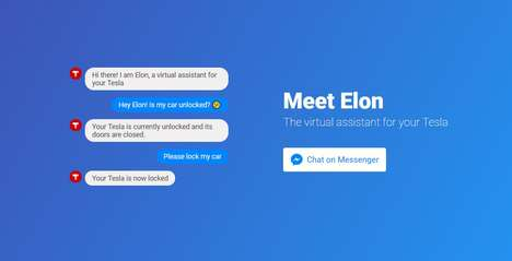 Intelligent Automotive Assistants - Teslabot is a Chat Assistant That Can Control Users' Teslas