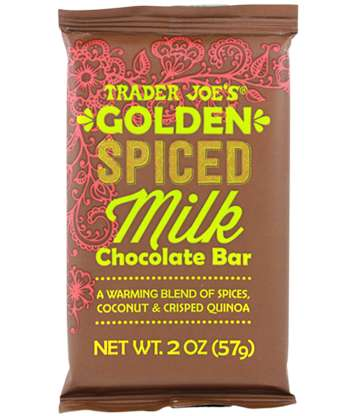 Superfood Latte-Inspired Chocolates - Trader Joe's Chocolate Bar Tastes Like a Golden Turmeric Latte