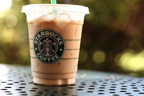 Caffeinated Coffee Chillers - Starbucks Coffee Ice Cubes are Available in St. Louis and Baltimore