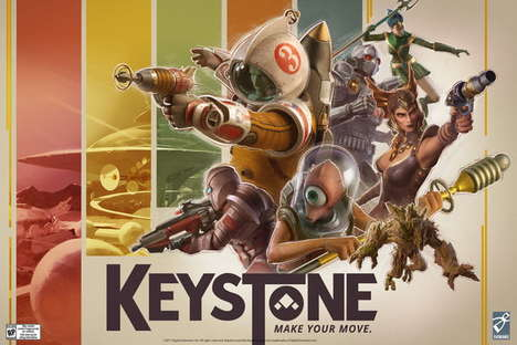 First-Person Shooter Card Games - 'Keystone' Will Combine Digital Shooting With Card Decks