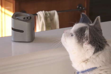 Pet Discipline Robots - The 'CatNani' Robot Stops Pets from Jumping on Tables and Counters