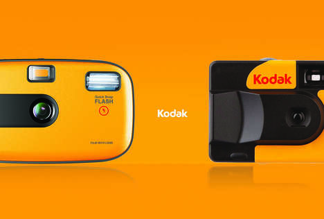 Disposable Photo Filter Cameras - These Conceptual Kodak Disposable Cameras Enhance Pictures