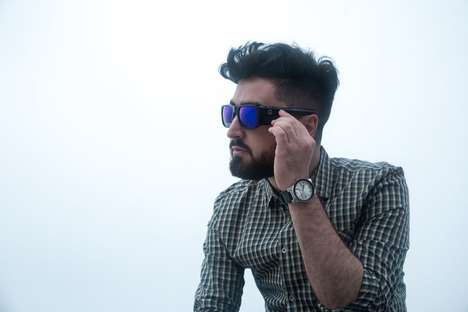 View-Capturing Sunglasses - The 'Omni-Wearable' Camera Sunglasses Pack an HD Video Camera