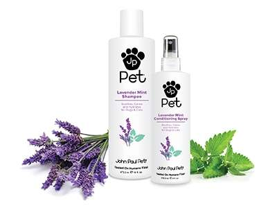 Lavender Pet Shampoos - John Paul Pet Offers a Small Lavender Collection For Dogs' Coats