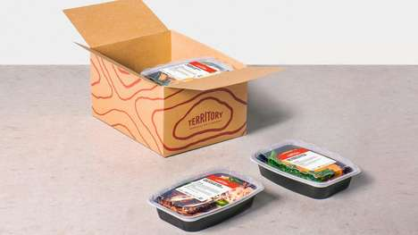Diet-Specific Meal Deliveries - 'Territory' Delivers Pre-Cooked Meals That Suit Your Diet