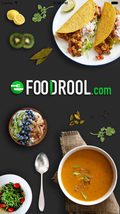 Premium Cuisine Providers - 'FooDrool' Offers Food Home Delivery from High-End Partners