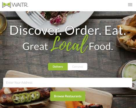 Local Food Delivery Services - 'Waitr' Delivers Local Meals from Premium Restaurants and More