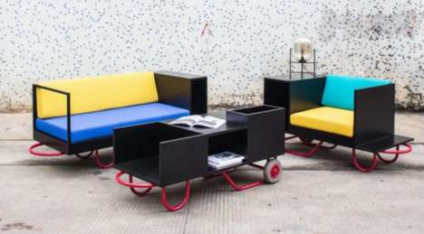 Transforming Portable Furniture - The Lim and Lu Brand Is Now Offering Furniture For Frequent Movers