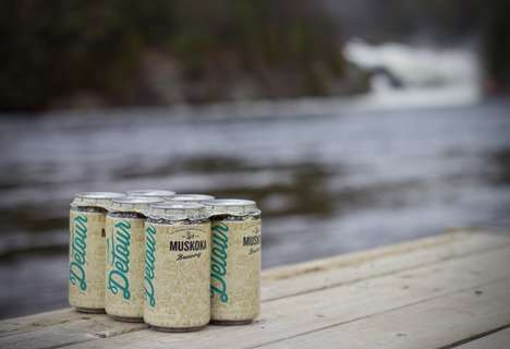 Paperboard Six-Pack Rings - The 'Can Collar' is an Environmentally Friendly Alternative to Plastic