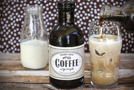 Coffee-Flavored Syrups - Trader Joe's Coffee Syrup Lets You Add a Caffeine Kick to Pancakes