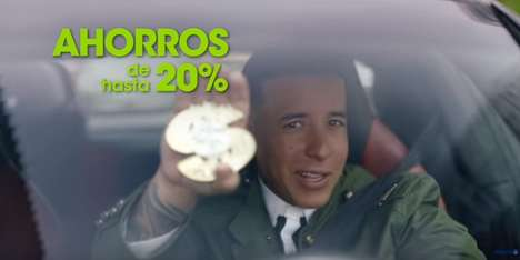 Musician-Starring Insurance Ads - These Daddy Yankee Allstate Ads Target a Hispanic Audience