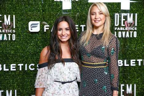 Songstress Athleisure Collaborations - Demi Lovato's Fabletics Collection Inspires Confidence