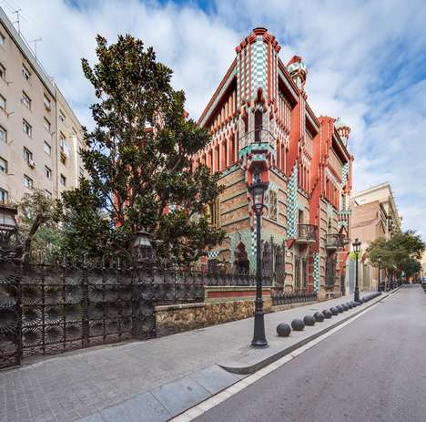 Historic Holiday Homes - Gaudi's 'Casa Vicens' Will Open to the Public for the First Time