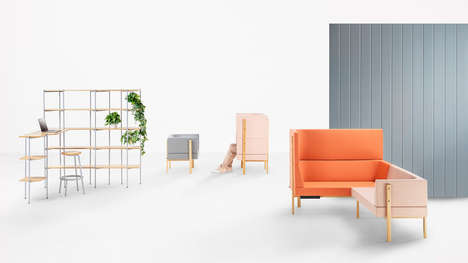 Millennial-Inspired Furniture - 'Les Basic' was designed to suit Millennials' lifestyles