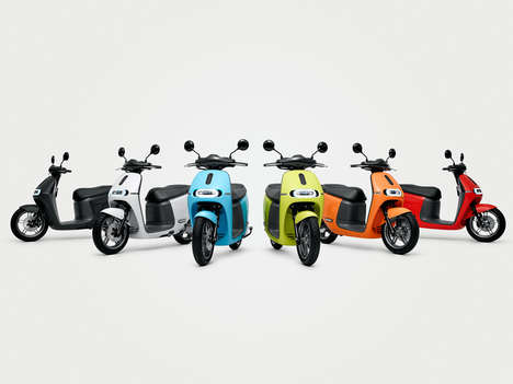 Comfortable Smart Scooters - The Gogoro 2 is a Smooth and Comfortable Vehicle for First-Time Riders